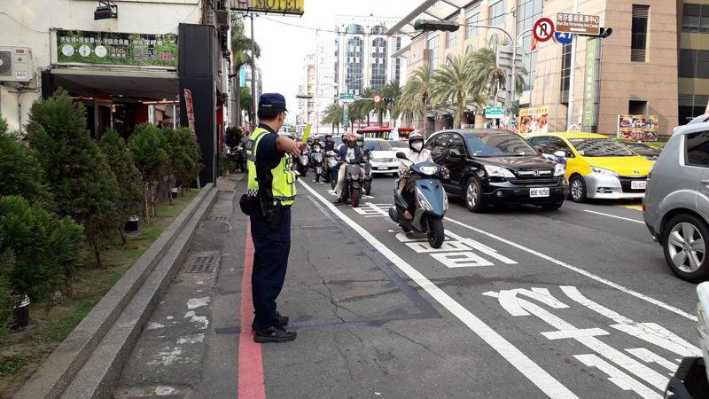 台南市警六分局針對轄區「藍晒圖文創園區」,緊鄰西門商圈,預估將湧入大量遊客,6月24日至28日規畫交通崗,加強疏導。記者邵心杰/翻攝