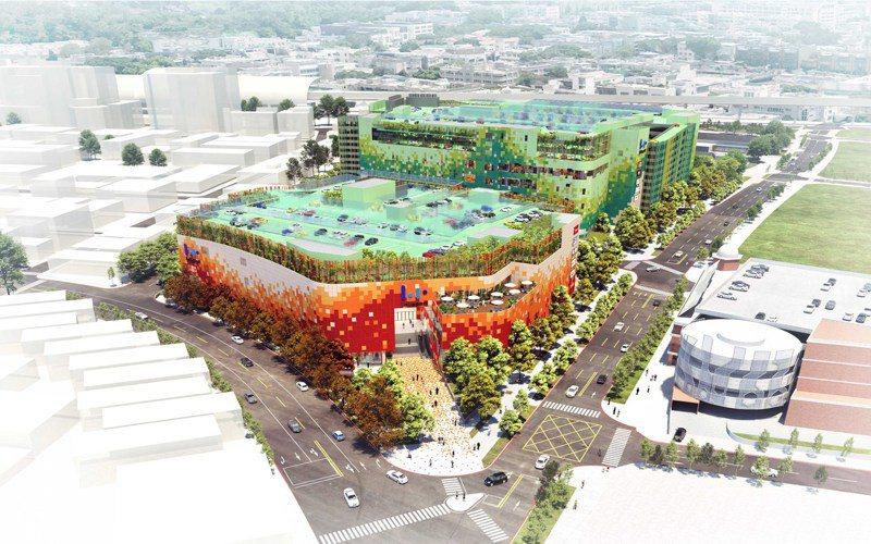 Mitsui Shopping Park LaLaport台中預計2022下半年開幕。圖/三井不動產提供