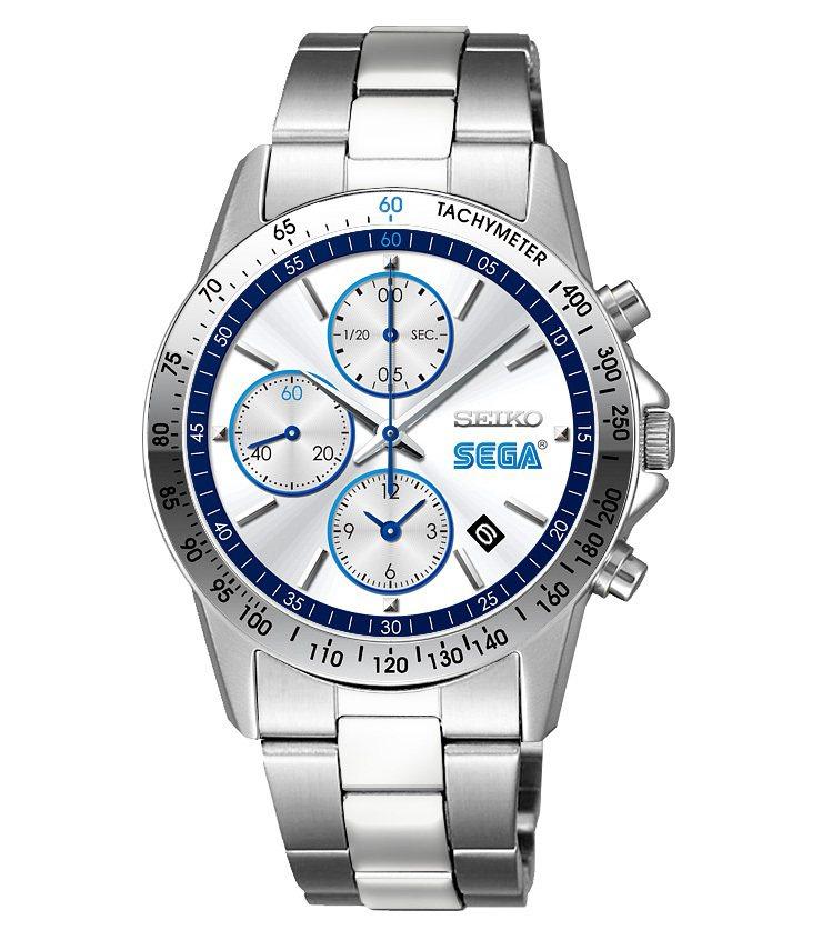 SEGA慶祝60周年與SEIKO推出聯名紀念腕表,限量800只,台灣未售。圖/摘...