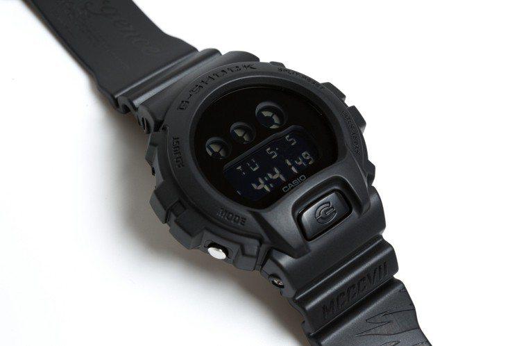 SMG x G-SHOCK DW-6900BB Resurgence特別款腕表,...