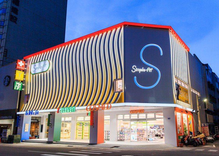 統一集團全台首家「Simple-Fit概念店」將於6月27日於台中登場。圖/7-...