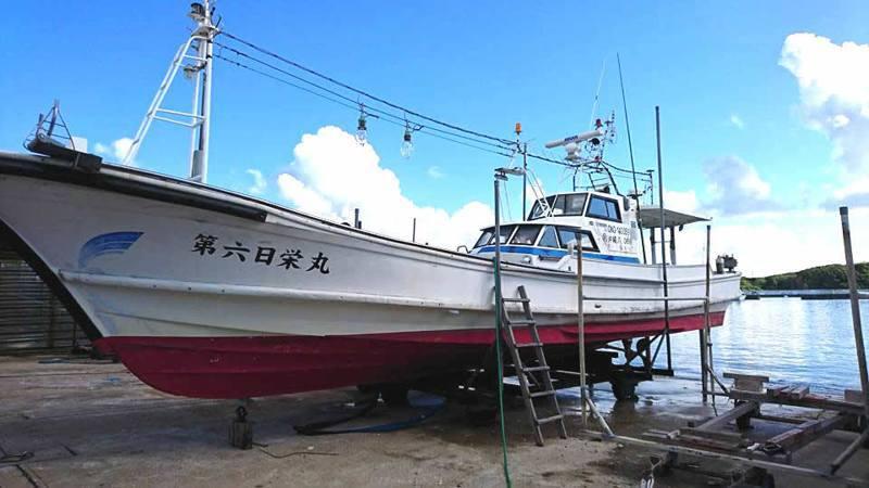 日本「日榮6號」漁船。圖/艦隊分署提供