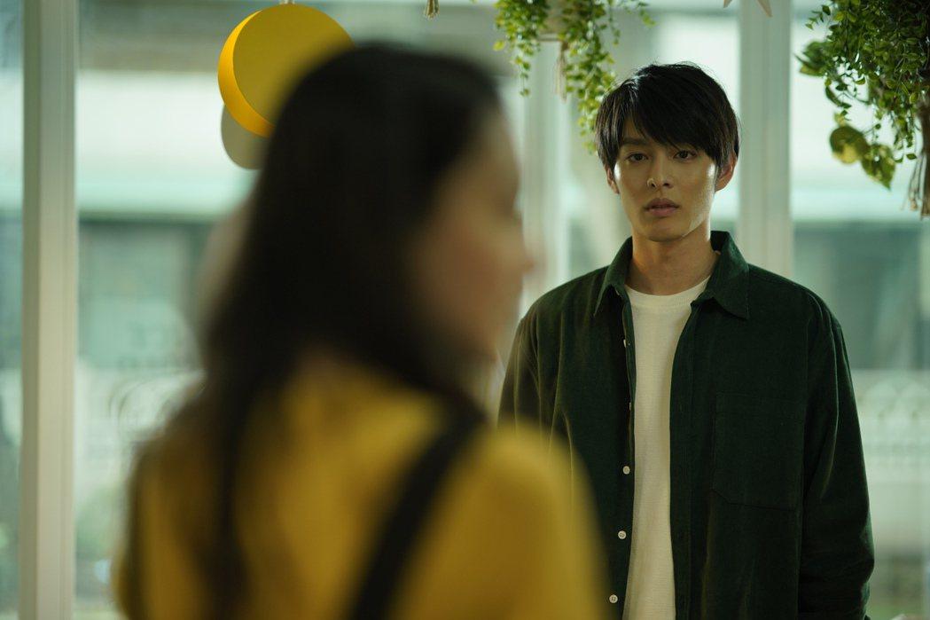 曹佑寧在片中和林映唯、陳妤有三角戀。圖/華映提供