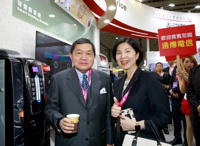 遠傳董事長徐旭東表示,遠傳心5G,講求建設用心、服務貼心、要讓用戶體驗最順心,這是遠傳對我們用戶的承諾。圖/遠傳提供