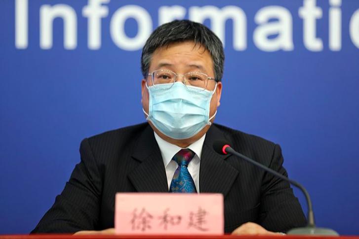 北京市政府新聞發言人徐和建。(新京報)