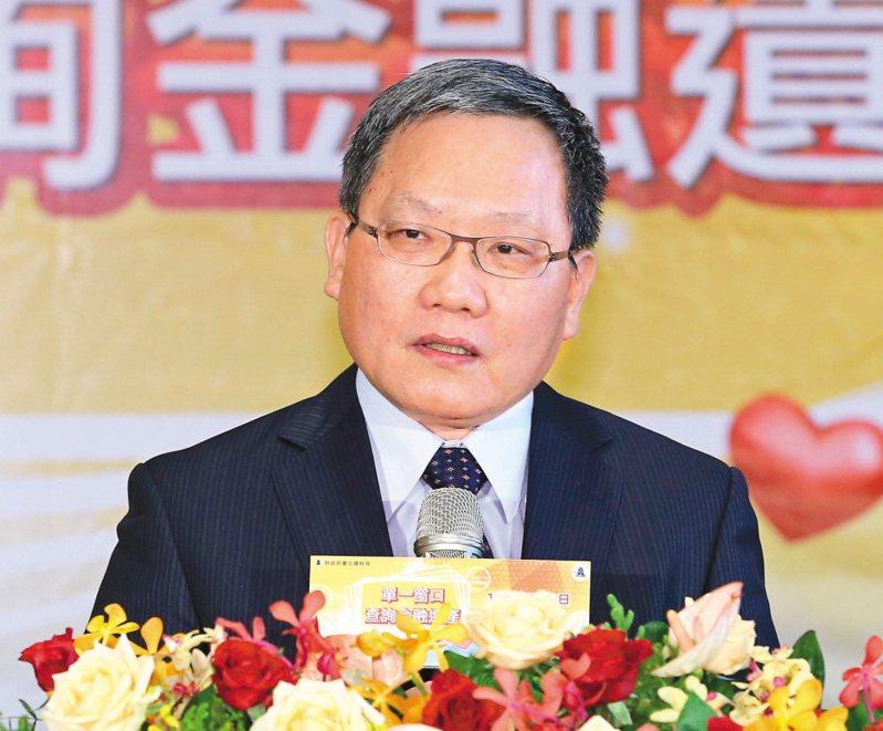 財政部長蘇建榮。聯合報系資料照/記者林澔一攝影