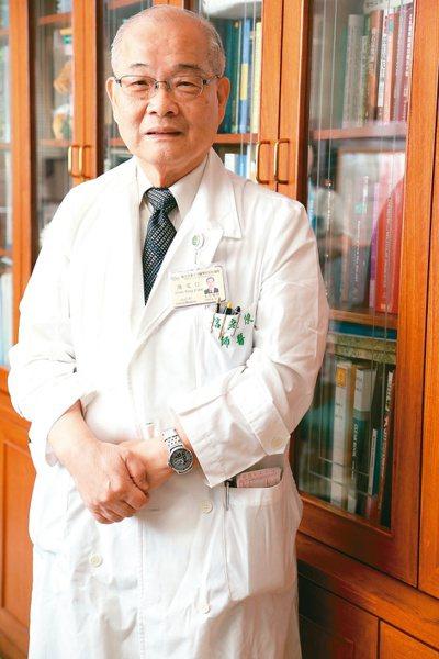 有「台灣肝帝」之稱的台大醫學院教授陳定信昨天下午病逝。 圖/聯合報系資料照片
