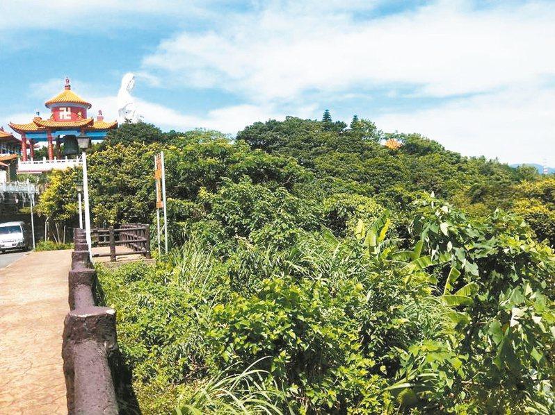 基隆中正公園希望之丘昨天動土,內政部長徐國勇認為可帶動觀光人潮。記者游明煌/攝影