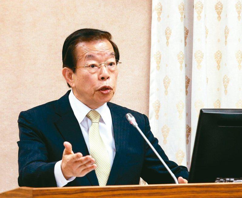 駐日代表謝長廷。圖/聯合報系資料照片