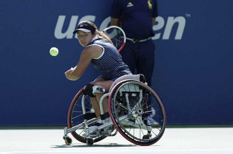 取消輪椅賽被罵翻,美網轉彎復辦。 美聯社