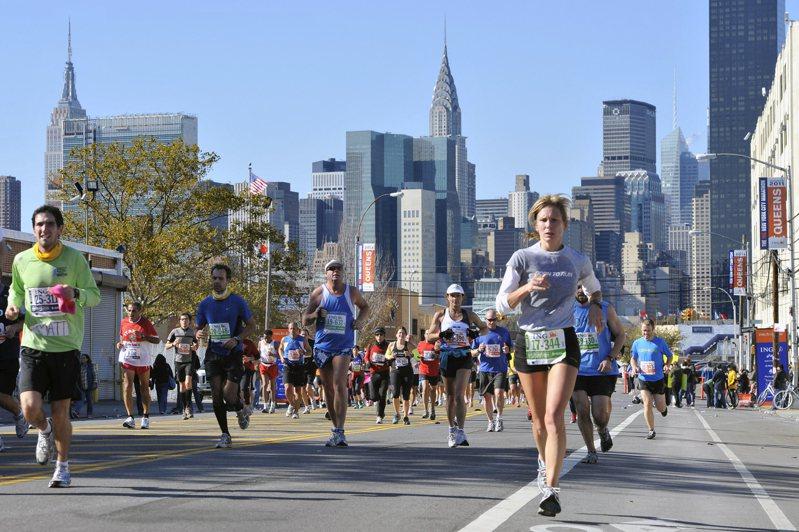 紐約馬拉松決定取消,圖為去年比賽。 美聯社
