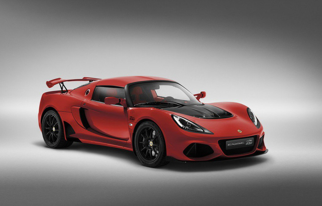 20周年紀念版Calypso Red車色。 摘自Lotus