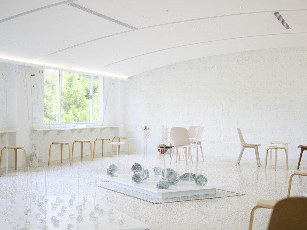春室首檔展覽〈玻形 When Glass is Formed〉。 圖/春室提供