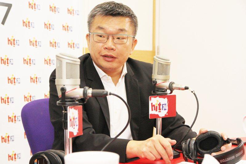 立法院副院長蔡其昌。圖/Hit Fm《周玉蔻嗆新聞》製作單位提供。