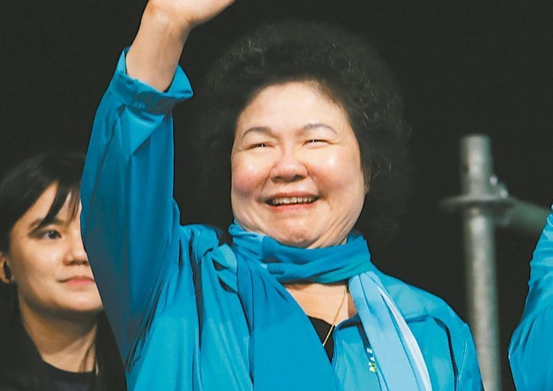 蔡總統日前提出下屆監委名單,內定高雄市前市長陳菊出任院長。 圖/聯合報系資料照片