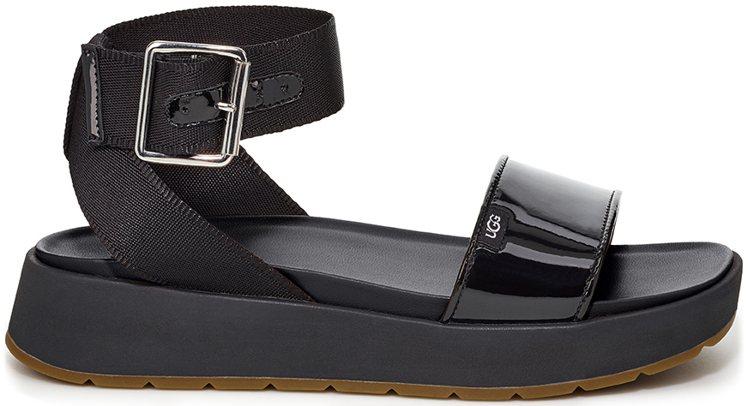UGG Lennox綁帶方頭涼鞋4,800元。圖/藍鐘提供