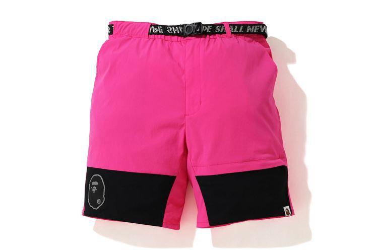 BAPE Summer Camp系列尼龍腰帶短褲5,599元。圖/I.T提供