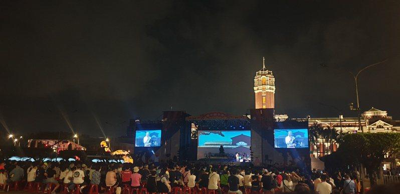 「再會吧 北投」端午限定版音樂會,於總統府前凱達格蘭大道登場。記者陳宛茜/攝影