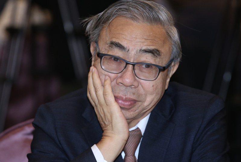 台塑集團總裁王文淵以紡拓會董事長身分號召力挺ECFA。圖/聯合報系資料照片