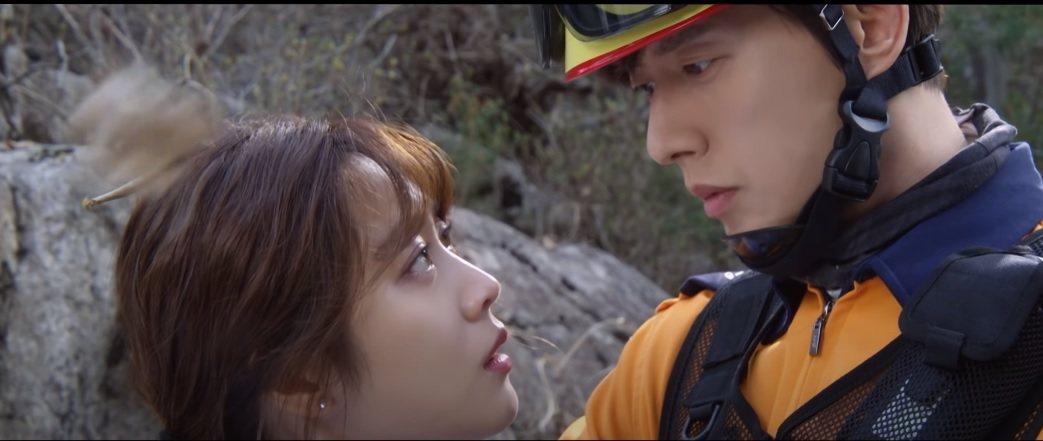 朴海鎮(左)與趙寶兒主演「Forest森林」。圖/擷自YouTube