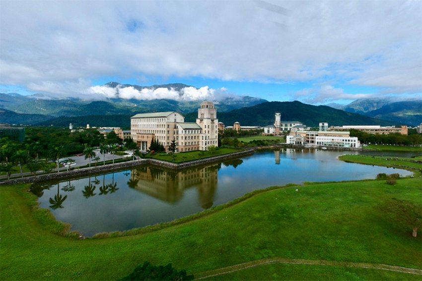 東華大學美麗的校園。 東華大學/提供