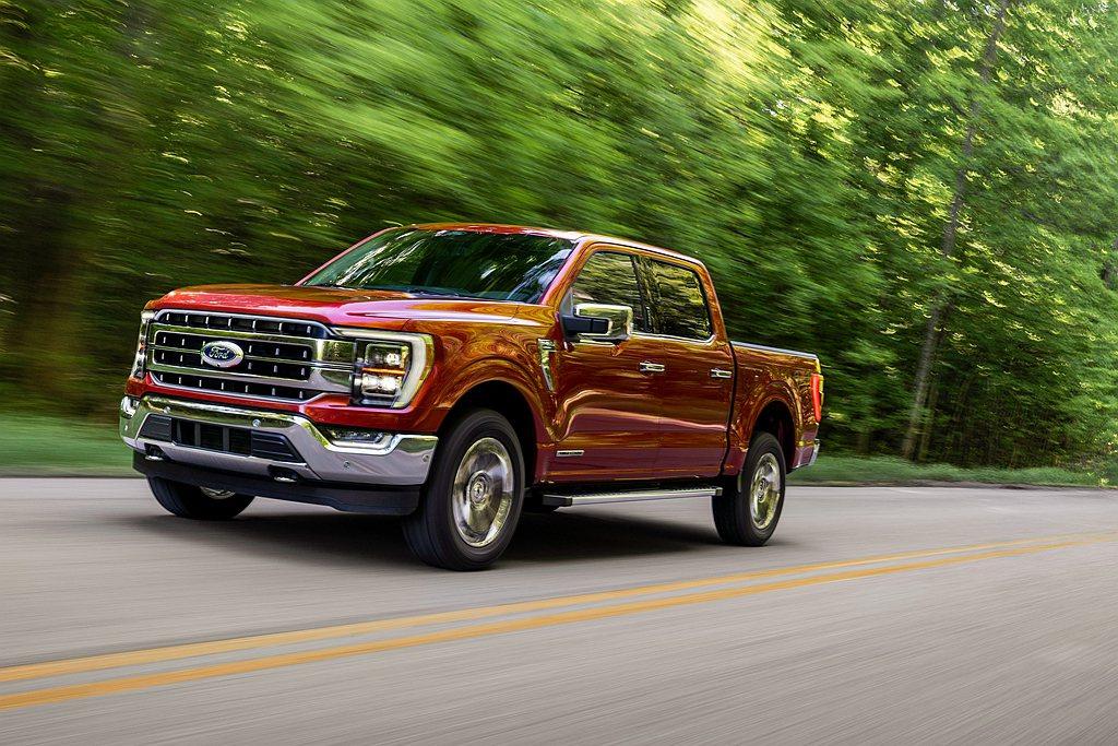 全球最熱賣的全尺寸皮卡Ford F-150,全新第十四代車型登場。 圖/Ford...