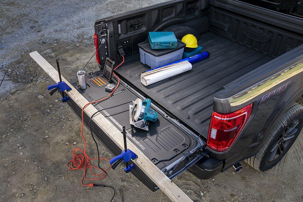可選的Pro Power Onboard發電機,進一步拓展全新第十四代Ford ...