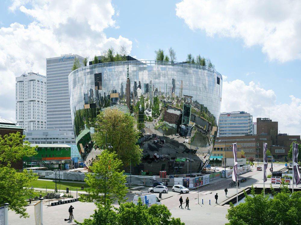 荷蘭博伊曼斯范伯寧恩美術館的新展館,是個融合藝術新展出概念和環保生態的鏡面大碗。...