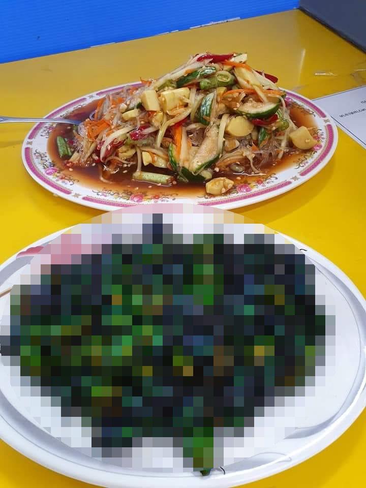 一名網友貼出公司裡外籍移工所抓來吃的金龜子照片,讓人看了頭皮發麻。 圖/翻攝自「爆廢公社」