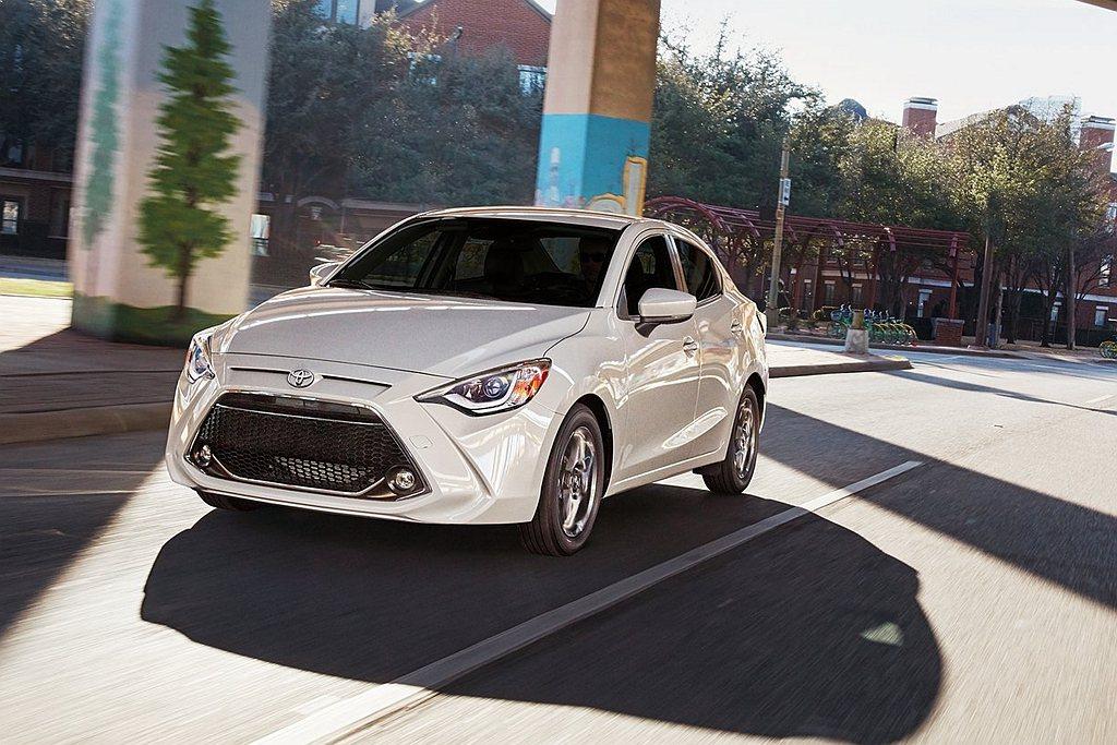 美規Toyota Yaris驚傳停產,銷售週期也只到今年底為止。 圖/Toyot...