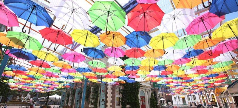 日本6月梅雨季新玩法:2020漂浮雨傘大街4+1選  愛夏晴空也愛夏雨天