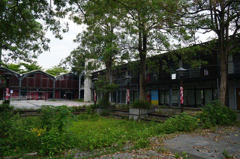荒廢的竹東動漫園區終於獲中央經費,將轉型原住民產銷中心。圖/縣府提供