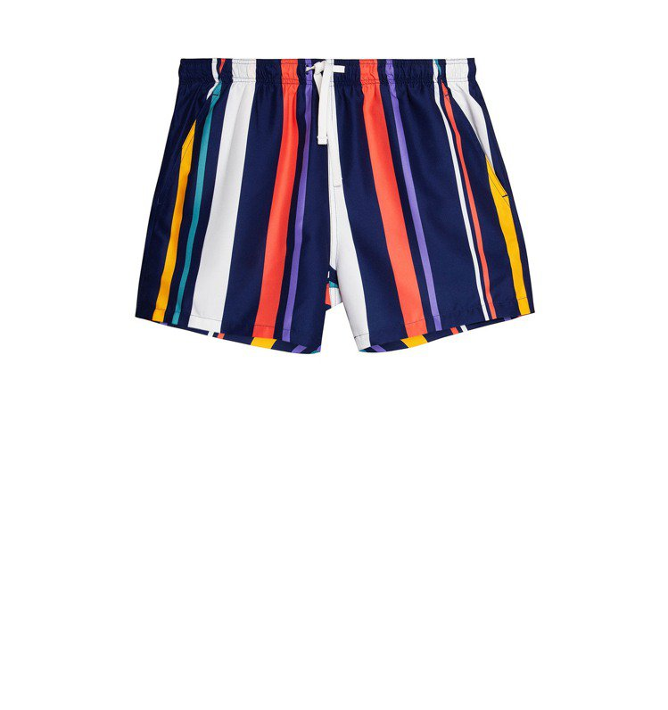 Bershka海灘褲750元。圖/Bershka提供