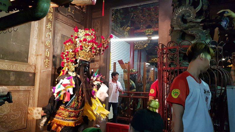 防疫解封,新竹重要宗教盛事竹塹中元城隍祭將於農曆七月如期舉辦。本報資料照片