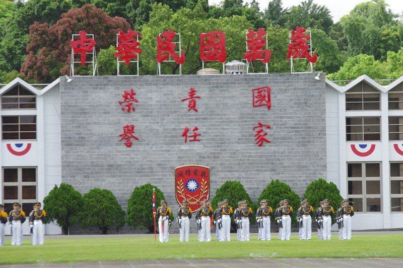 認真改善軍官學校招募優秀青年入學的方法,才是解決軍方人力問題的正途,圖為陸軍官校。 圖/聯合報系資料照片