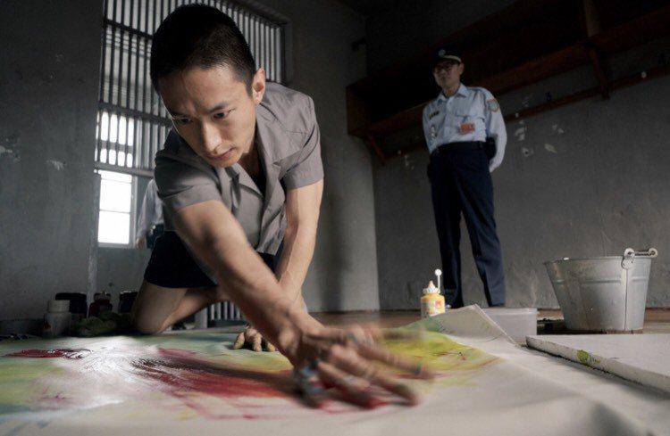 黃河在「惡之畫」中飾演殺人犯。圖/台北電影節提供