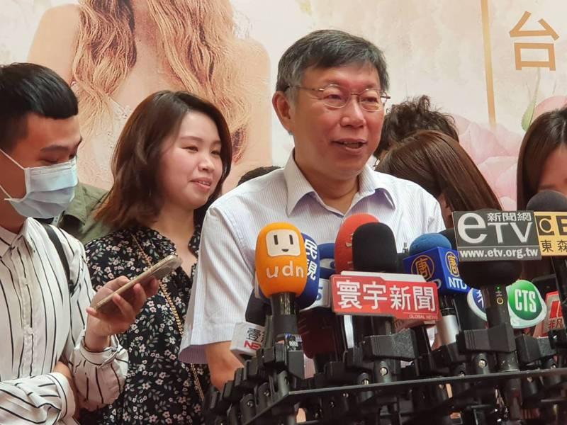 台北市長柯文哲昨天指關渡平原違建業者會以專案處理,下周二開會討論。記者楊正海/攝影
