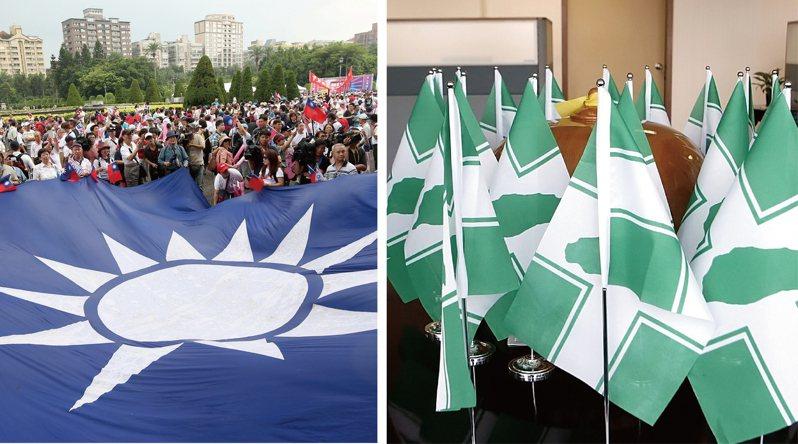 高雄市長補選八月十五日登場,剩下五十天的選戰宛如百米衝刺,藍綠擊鼓召喚支持者歸隊。 圖/聯合報系資料照片