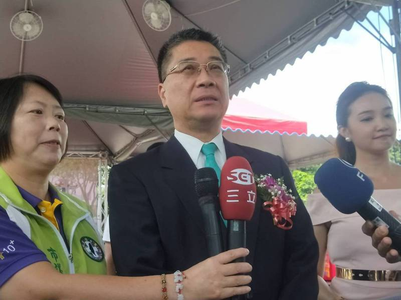 內政部長徐國勇(中)。聯合報系記者游明煌/攝影