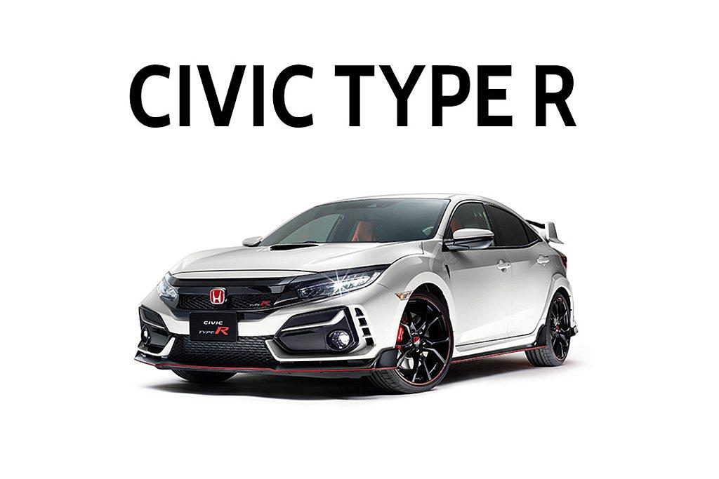 日本Honda汽車宣布延後發表小改款Civic Type R。 圖/Honda提...