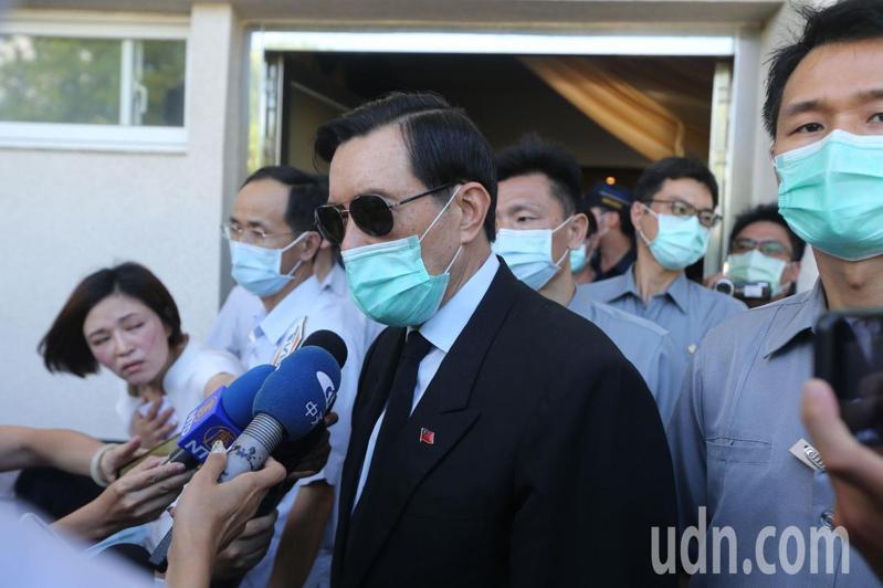 國民黨前主席、前總統馬英九。記者劉學聖/攝影