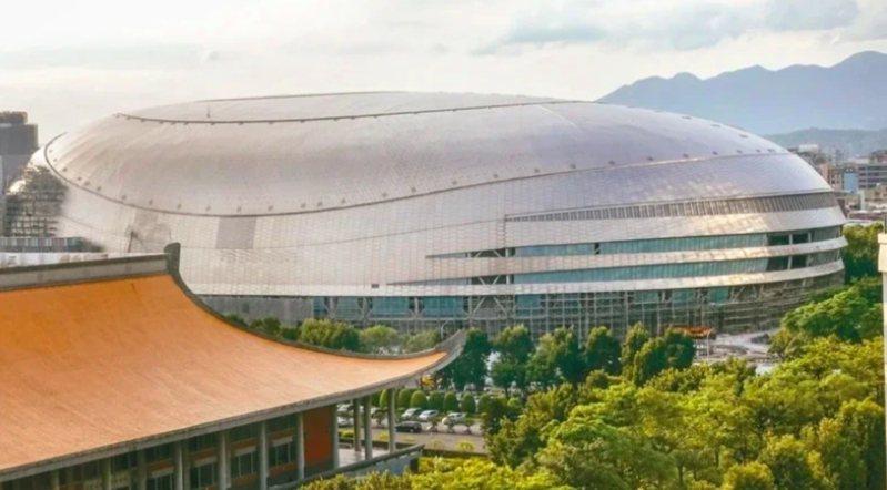 台北大巨蛋復工爭議持續延燒。圖/本報資料照
