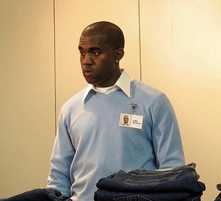 潮流天王肯伊威斯特Kanye West年少時曾在GAP芝加哥門市工作。圖/GAP...