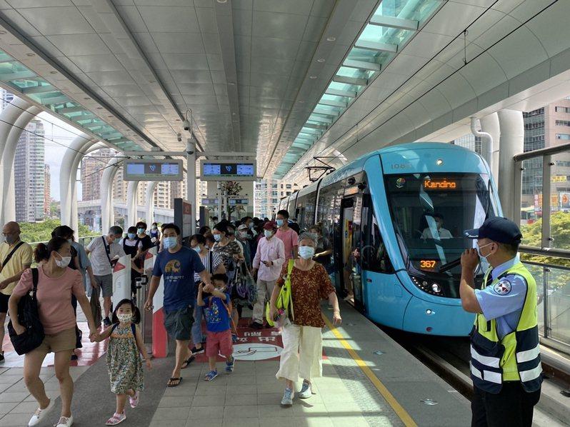 新北淡海輕軌。圖/新北捷運公司提供