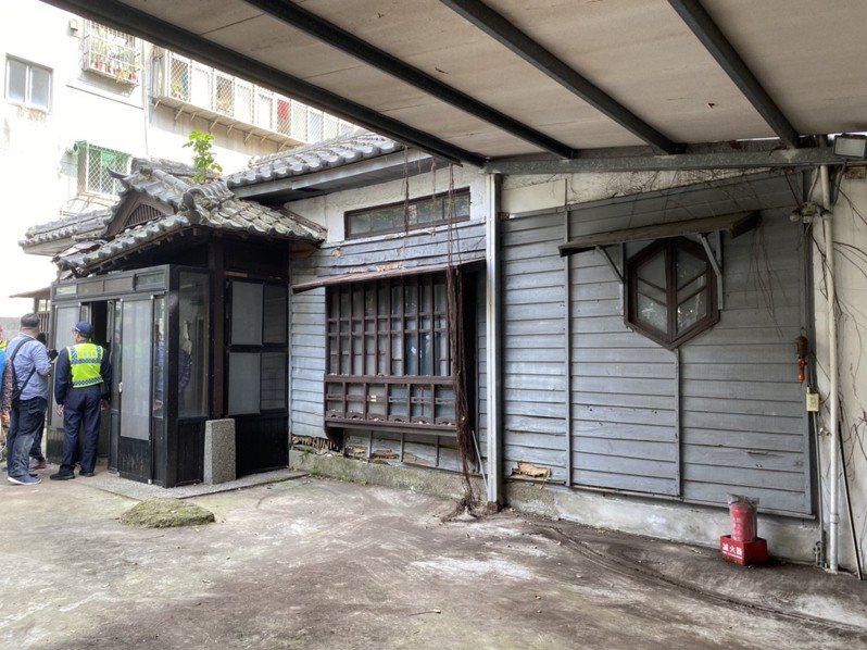 臺靜農故居今年初因台大擬拆除引發批評,後經台北市文資會審議,登錄為紀念建築。圖/聯合報系資料照片
