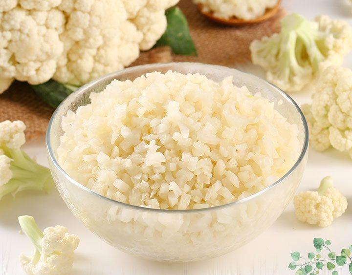 萊爾富《夏日好芒》預購專刊推出「愛上新鮮」白花椰菜米,售價59元。圖/萊爾富提供