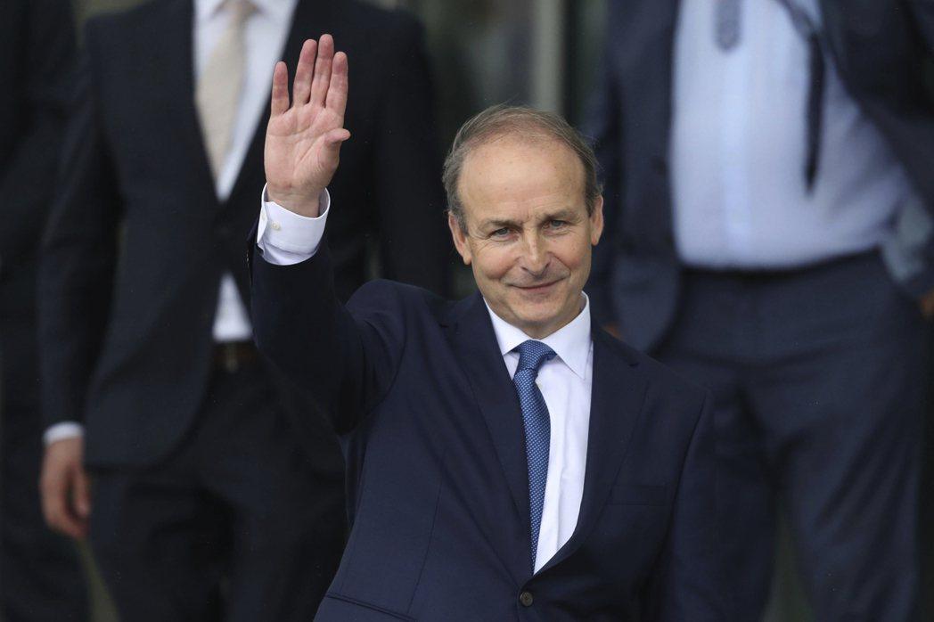 愛爾蘭總理馬丁。(美聯社)