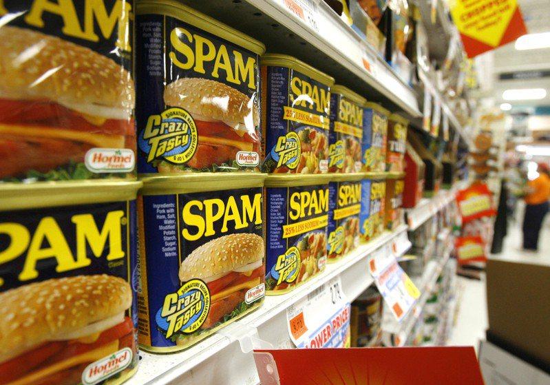 肉類罐頭重獲消費者青睞。(美聯社)