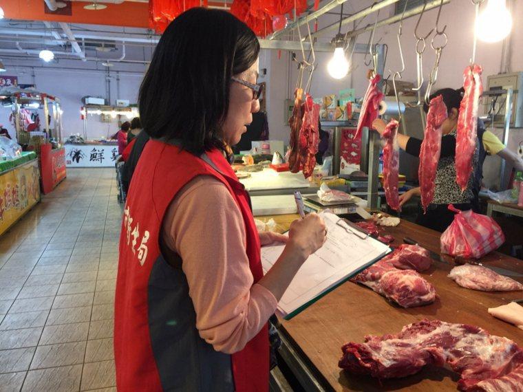 肉品從屠宰場出場後,為避免非傷寒性沙門氏菌造成感染,建議選擇冷鏈保存豬肉,並注意...