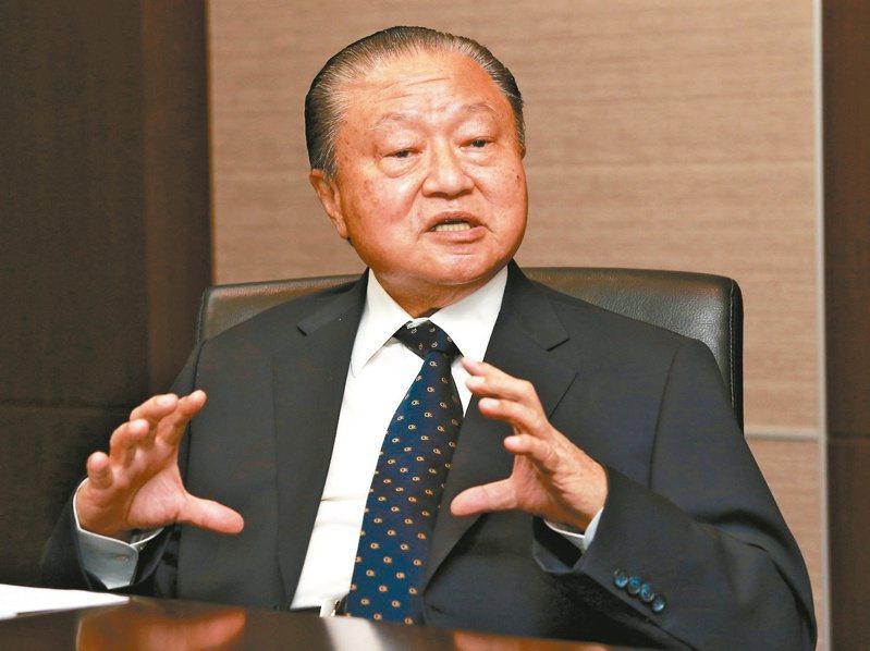 台達電創辦人鄭崇華是台灣科技業中倡導節能減碳、綠化環保概念的先行者。本報資料照片
